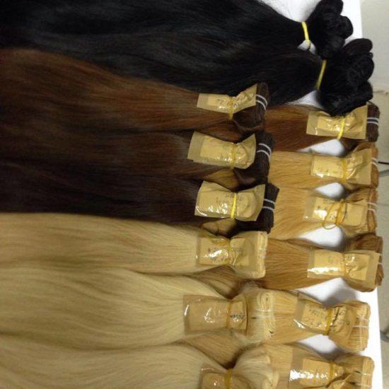 Славянские трессы волос